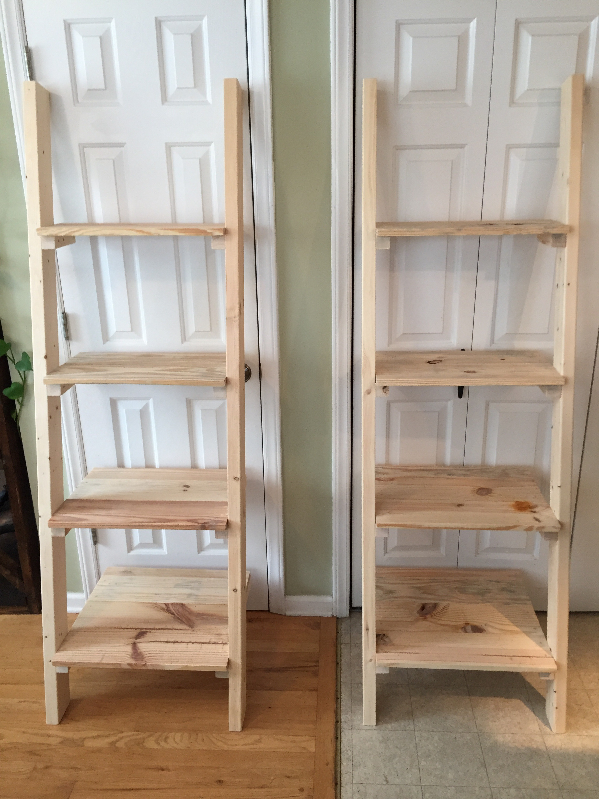 shelf tier amazon ca home ladder a view kitchen larger leaning adam wood dp frame winsome